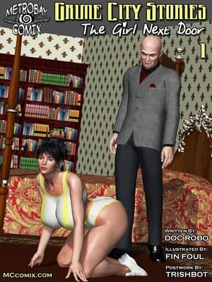The Girl Next Door- Metrobay Comix 8muses 3D Porn Comics