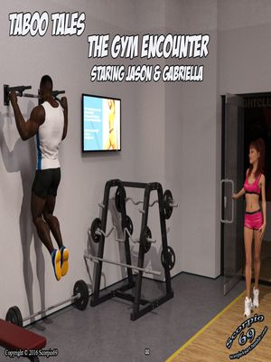 The Gym Encounter- Taboo Tales 8muses Interracial Comics