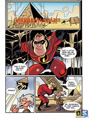 The Incredibles In Egypt- Drawn Sex 8muses Adult Comics