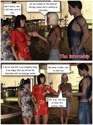 8muses 3D Porn Comics The Internship – Part 1 by VGer image 01