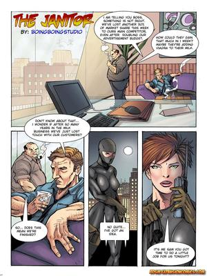 The Janitor- BBStudio 8muses Adult Comics