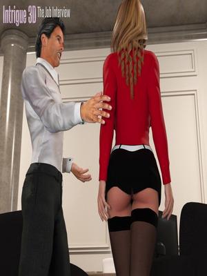 8muses 3D Porn Comics The Job Interview- Intrigue 3D image 02