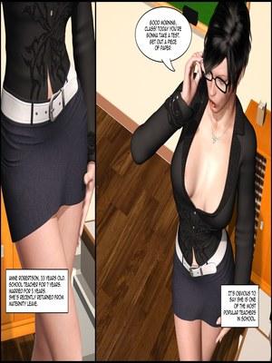 8muses 3D Porn Comics The Lesbian Test – Part 1 image 16