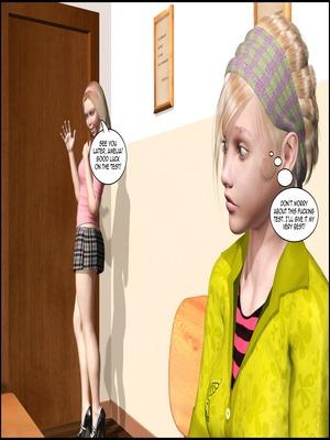 8muses 3D Porn Comics The Lesbian Test – Part 1 image 29