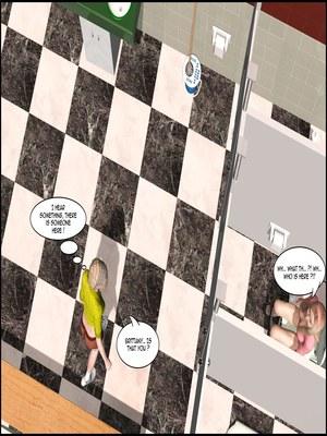 8muses 3D Porn Comics The Lesbian Test – Part 1 image 33
