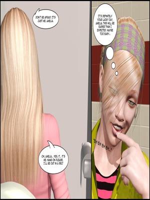 8muses 3D Porn Comics The Lesbian Test – Part 1 image 34