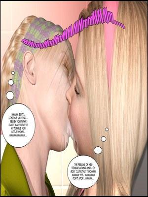 8muses 3D Porn Comics The Lesbian Test – Part 1 image 50