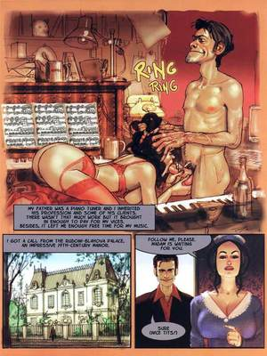 8muses Adult Comics The Piano Tuner- Ignacio Noe image 01