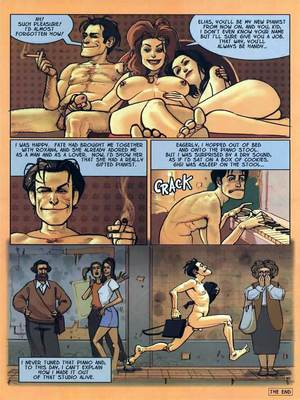 8muses Adult Comics The Piano Tuner- Ignacio Noe image 16