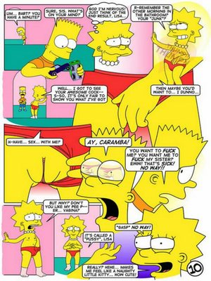 8muses Adult Comics The Simpsons – Lisa lust! image 10