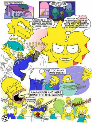 8muses Adult Comics The Simpsons – Lisa lust! image 12