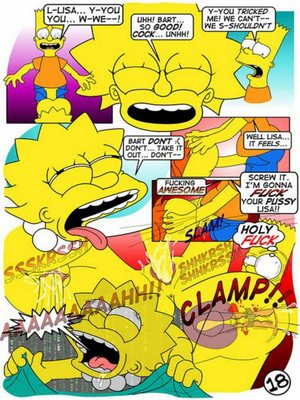8muses Adult Comics The Simpsons – Lisa lust! image 18