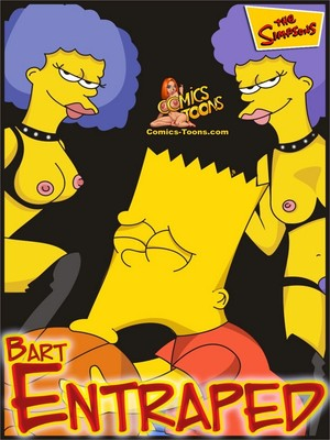 The Simpsons- Bart Entraped 8muses Cartoon Comics