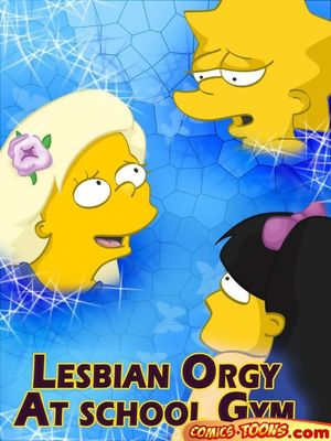 The Simpsons- Lesbian Orgy At School Gym 8muses Cartoon Comics