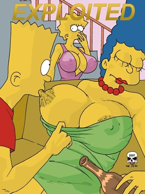 The Simpsons- Marge Exploited 8muses Adult Comics