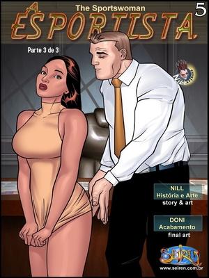 The Sportswoman 5 – Part 3 (English)- Seiren 8muses Adult Comics
