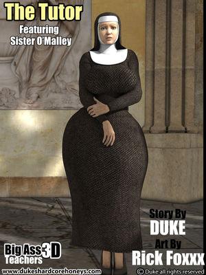 The Tutor- Big Ass3D Teachers- Duke Honey 8muses 3D Porn Comics