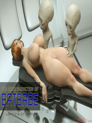 8muses 3D Porn Comics Thefoxxx- Alien abduction of Batbabe image 01