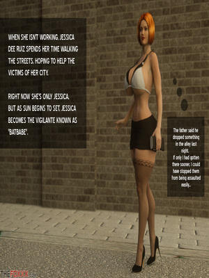 8muses 3D Porn Comics Thefoxxx- Alien abduction of Batbabe image 03