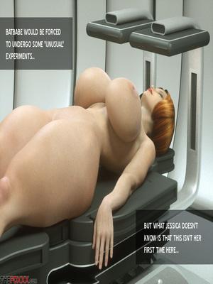 8muses 3D Porn Comics Thefoxxx- Alien abduction of Batbabe image 07