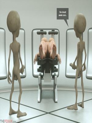 8muses 3D Porn Comics Thefoxxx- Alien abduction of Batbabe image 08