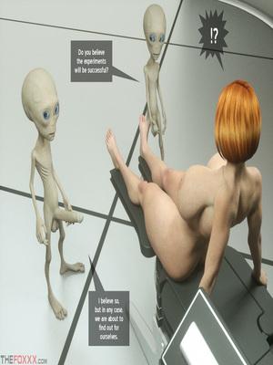 8muses 3D Porn Comics Thefoxxx- Alien abduction of Batbabe image 09