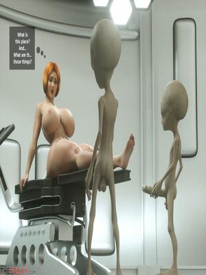 8muses 3D Porn Comics Thefoxxx- Alien abduction of Batbabe image 10