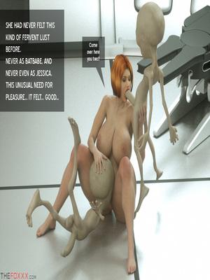 8muses 3D Porn Comics Thefoxxx- Alien abduction of Batbabe image 12