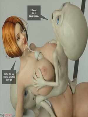 8muses 3D Porn Comics Thefoxxx- Alien abduction of Batbabe image 17