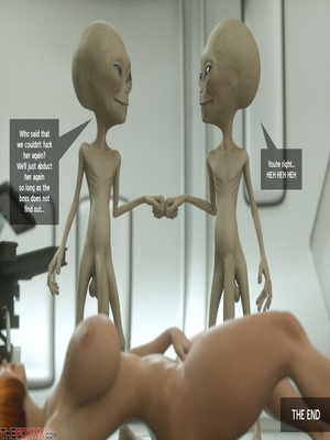 8muses 3D Porn Comics Thefoxxx- Alien abduction of Batbabe image 19