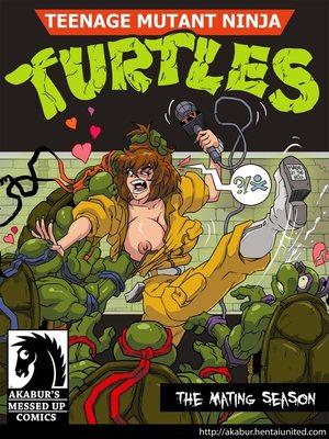 TMNT -The Mating Season 8muses Adult Comics