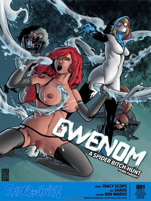 8muses Porncomics Tracey Scops – Gwenom- Spider Bitch Hunt image 01