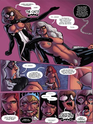 8muses Porncomics Tracey Scops – Gwenom- Spider Bitch Hunt image 08