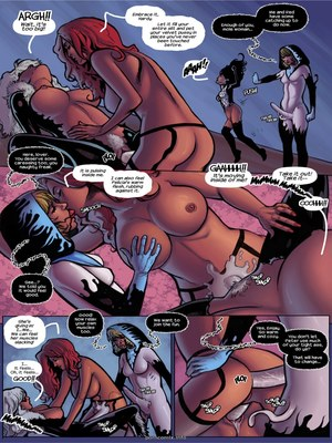 8muses Porncomics Tracey Scops – Gwenom- Spider Bitch Hunt image 09