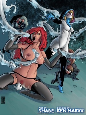 8muses Porncomics Tracey Scops – Gwenom- Spider Bitch Hunt image 11