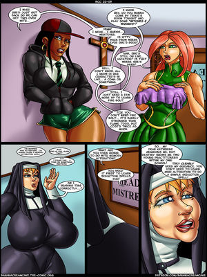 8muses Adult Comics Transmorpher DDS- Banana Cream Cake 22- Mother Superioru2019s Coven image 06