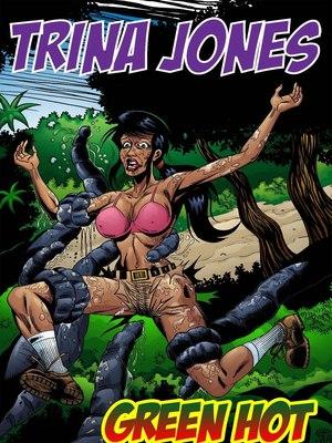 8muses Adult Comics Trina Jones Green Hot image 01