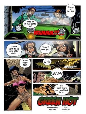 8muses Adult Comics Trina Jones Green Hot image 02