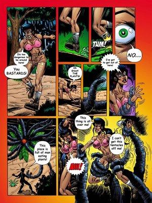 8muses Adult Comics Trina Jones Green Hot image 03