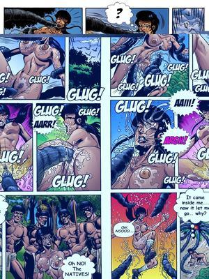 8muses Adult Comics Trina Jones Green Hot image 06
