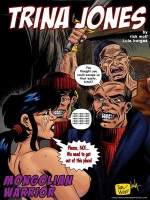 Trina Jones- Mongolian Warrior 8muses Interracial Comics