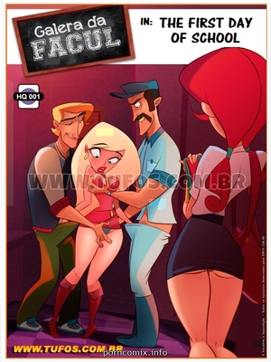 Tufos- First Day of School (English) 8muses Incest Comics