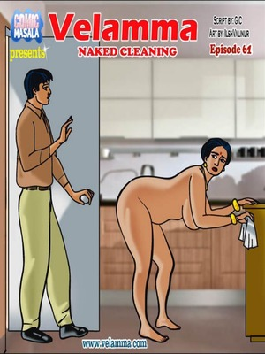 Velamma 61 – Naked Cleaning 8muses Adult Comics