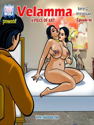 Velamma 62- A Piece of Art 8muses Adult Comics