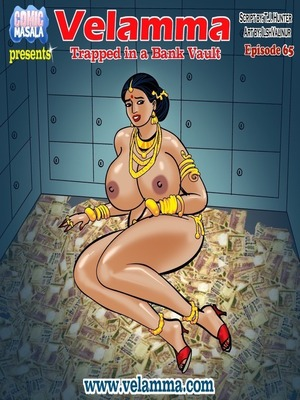 Velamma 65- Trapped in Bank Vault 8muses Porncomics