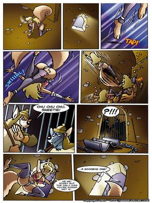 8muses Furry Comics Vixine- Reckless Fur image 05