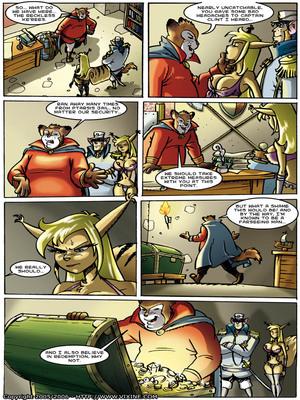 8muses Furry Comics Vixine- Reckless Fur image 18
