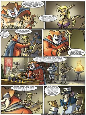 8muses Furry Comics Vixine- Reckless Fur image 19