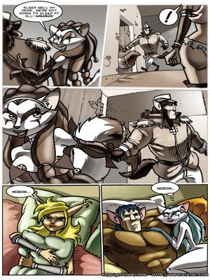 8muses Furry Comics Vixine- Reckless Fur image 26