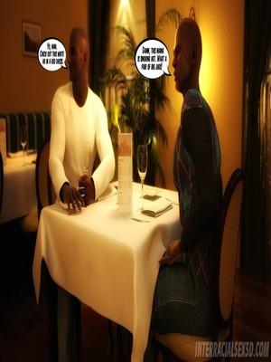 8muses Interracial Comics Wedding Anniversary- InterracialSex3D image 04